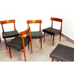 6 Sessel für Eßtisch, um 1960