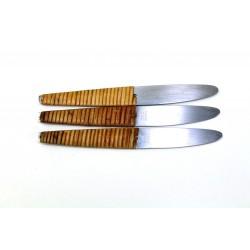 3 Dessertmesser Auböck Amboss, 1955