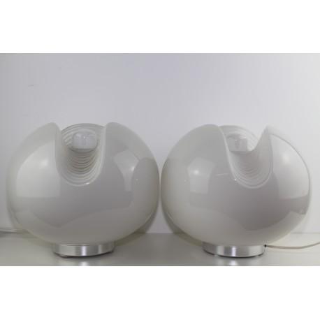 Peill und Putzler, Paar Tischlampen, 1960er