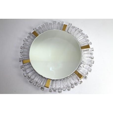 Lichtspiegel von Stölzle Kristallglas Rahmen, 1960