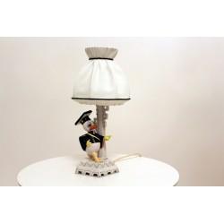 """italienische Porzellanlampe """" Girardi"""""""