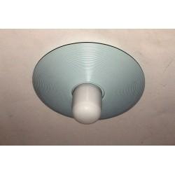 Porzellan Deckenlampe mit Kunststoffschirm