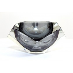 Diamand Cut Murano Ashtray