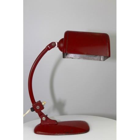 Molitor Novum Bauhaus Style Tischlampe um 1935