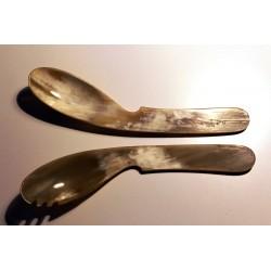 Auböck Salatbesteck Horn